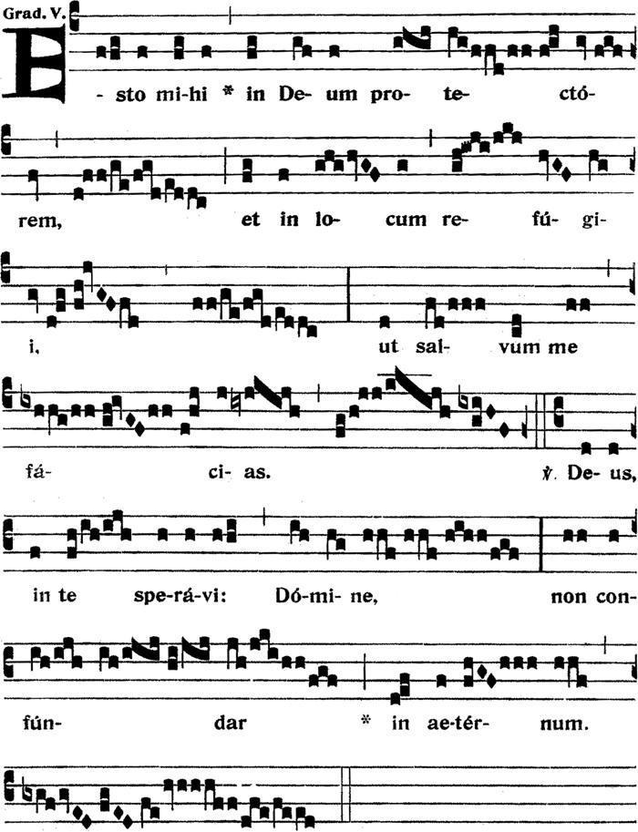 Graduel du VIIIème dimanche apres la Pentecote