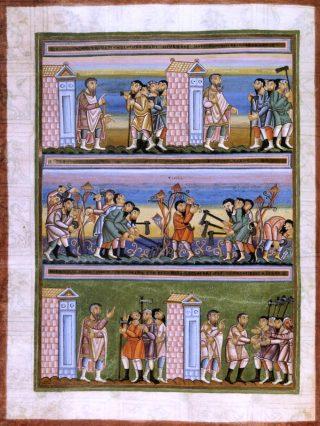Parabole des ouvriers de la dernière heure - évangile du dimanche de la Septuagésime.