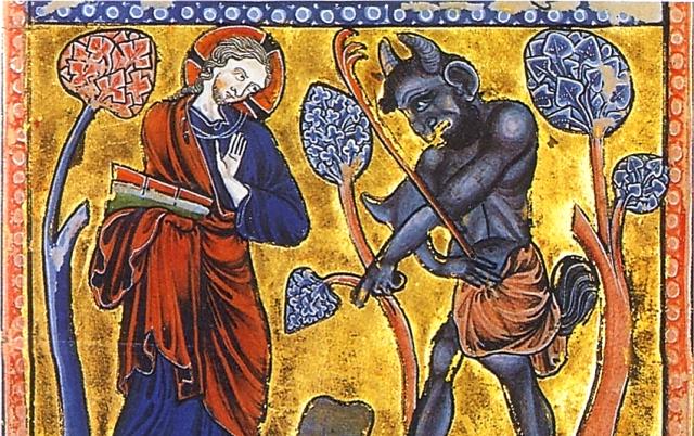 La tentation du Christ au désert