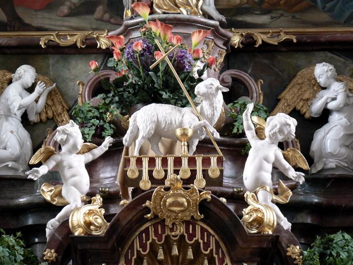 Eglise paroissiale Steinhausen en Baviere