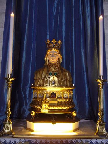 reliquaire de sainte Marthe