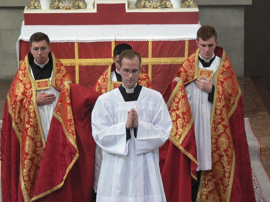 Vêpres au séminaire St Pierre