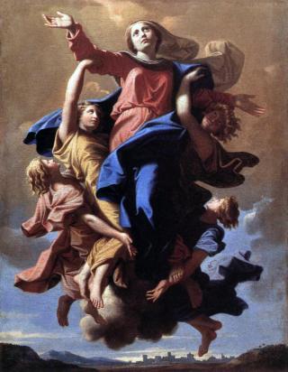 L'Assomption par Nicolas Poussin