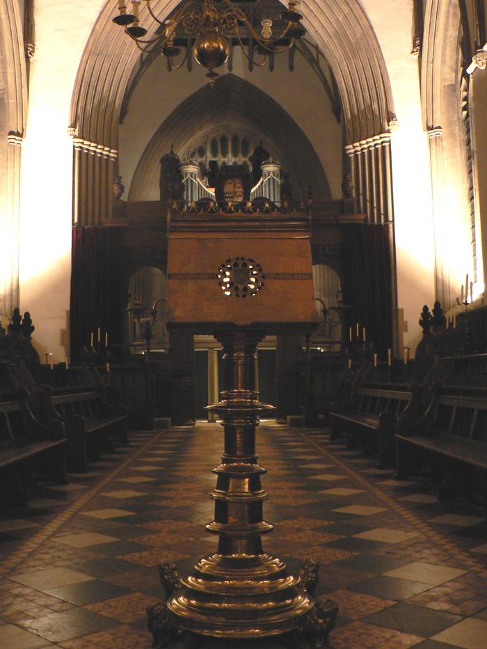 Lutrin de Merton College, Oxford