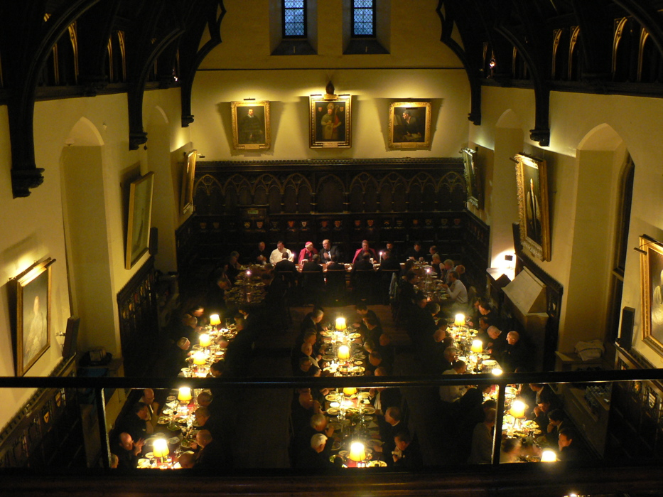 Souper à Merton College, Oxford
