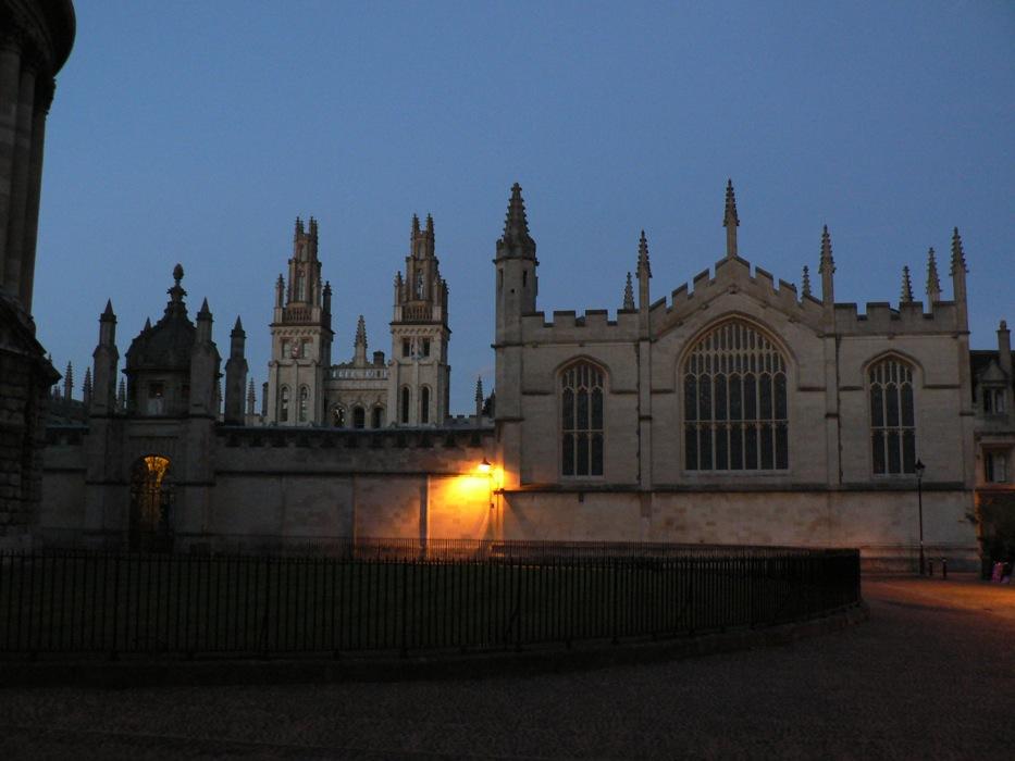 Oxford, New College