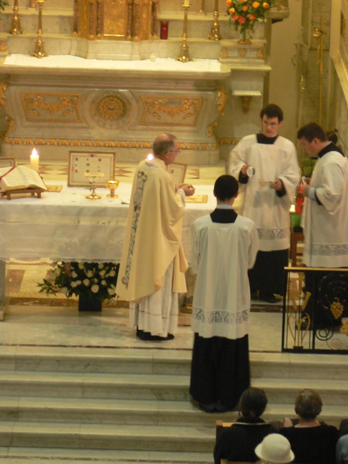 Manifestation de la Médaille miraculeuse - pèlerinage paroissial, 27 novembre 2007