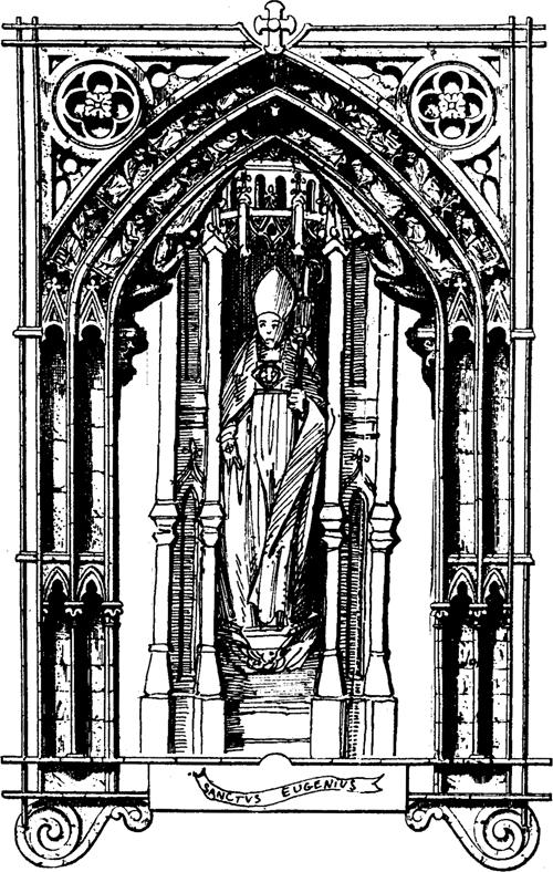 Saint Eugène, pontife & martyr