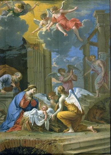 La Nativité - Ecole française XVIIème siècle