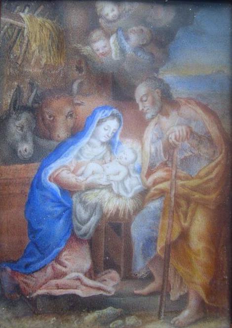 La Nativité - Ecole française XVIIIème siècle