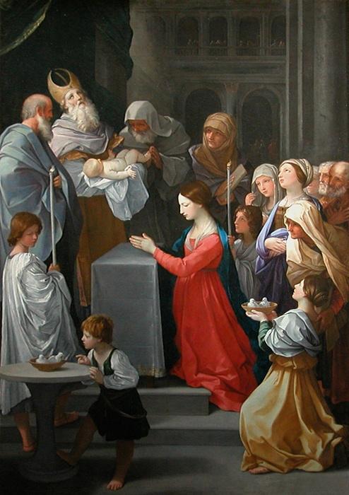 Purification de la Sainte Vierge par Guido Reni