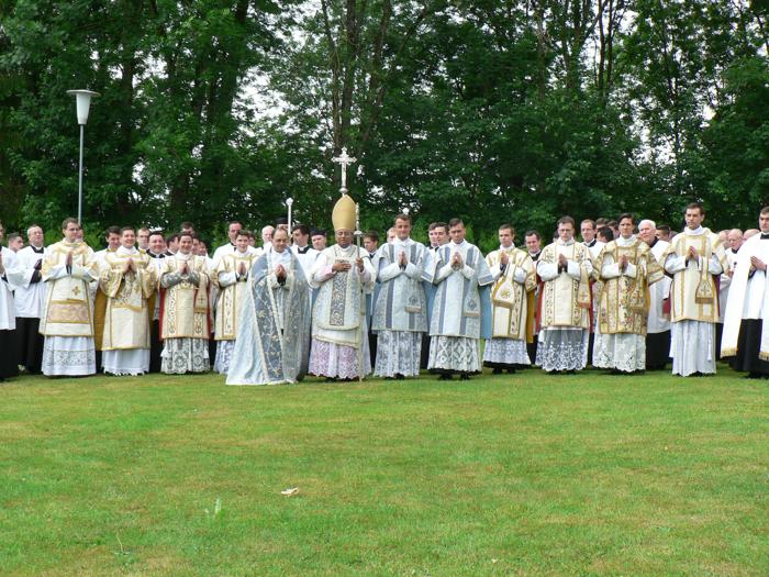Ordinations diaconales à Wigratzbad
