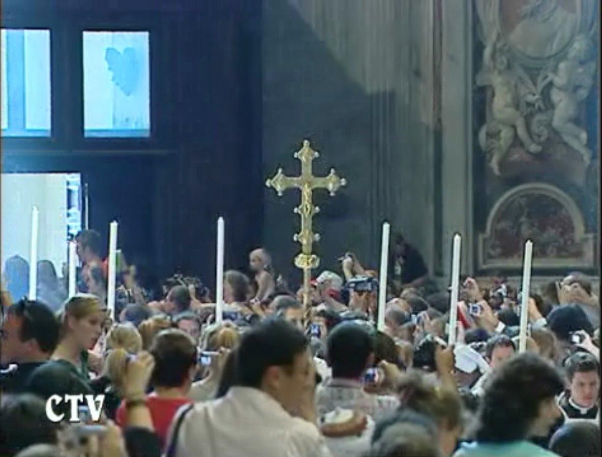 Messe de la saint Pierre saint Paul, Rome, le 29 juin 2008