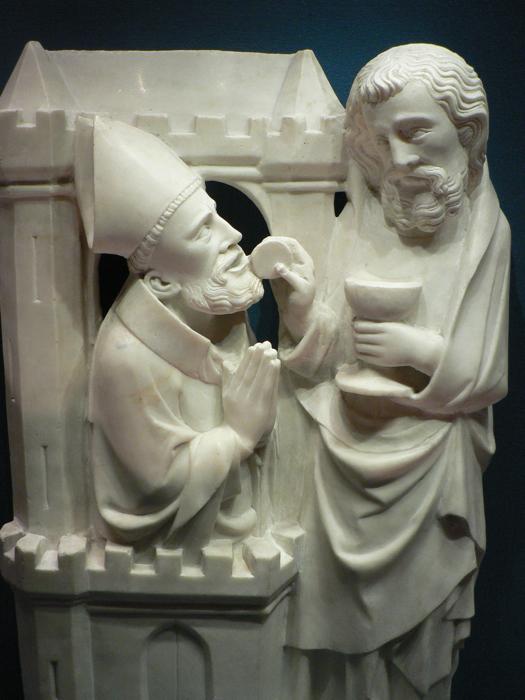 La communion de saint Grégoire