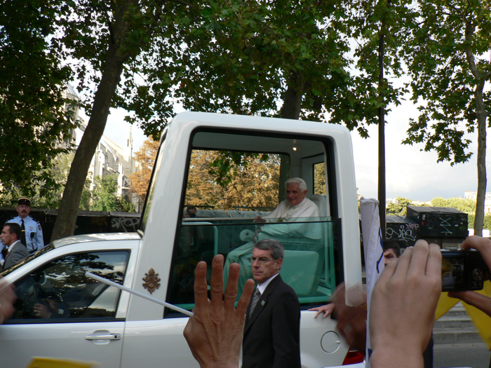 Le Saint-Père à Paris