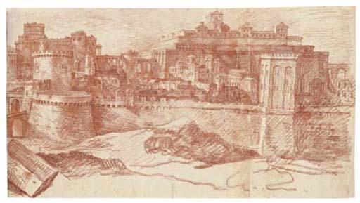 Jérusalem & le Temple par Philippe de Champaigne