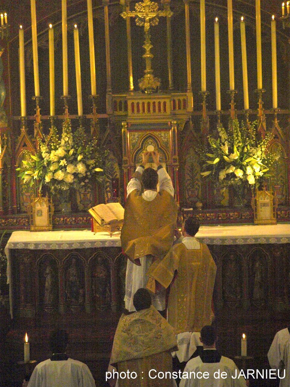 Fête-Dieu 2009 à Saint-Eugène