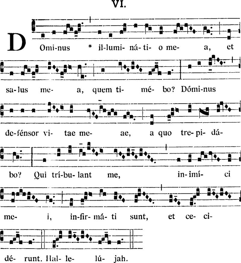 Ingressa ambrosienne VI du commun dominical