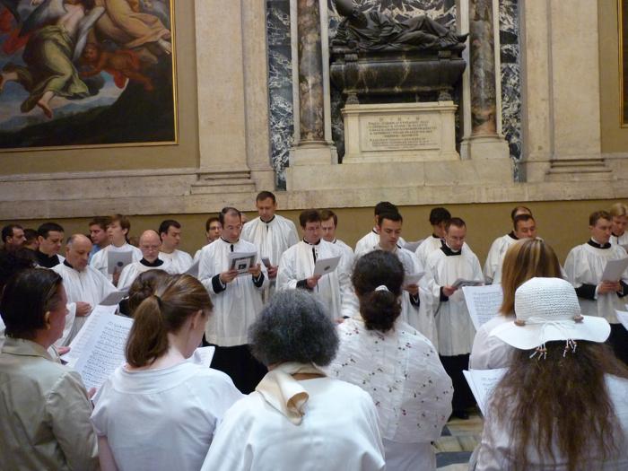 Messe romaine à Sainte-Marie-Majeure