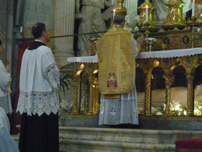 Messe ambrosienne à la Minerve