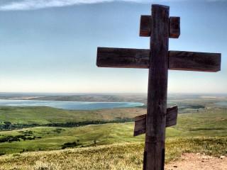 Croix près du lac Sengil