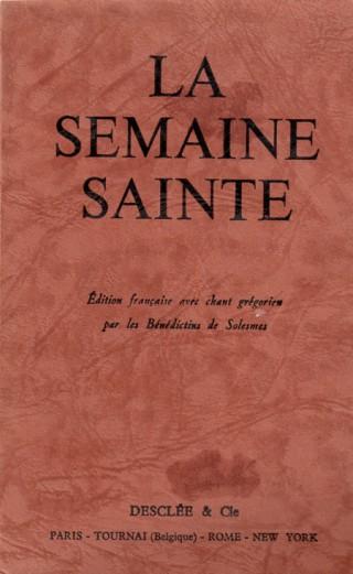 Semaine Sainte - Desclée, n°336