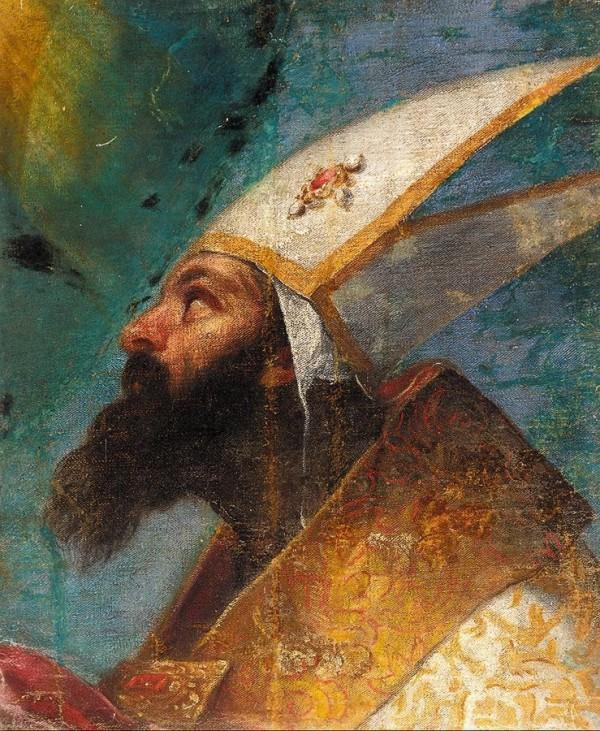 Un saint évêque, par Véronèse
