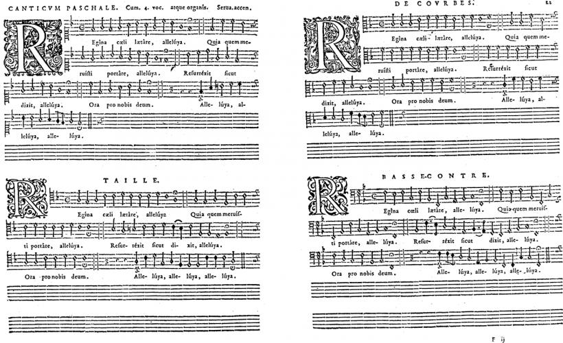 Charles de Courbes - Regina cœli