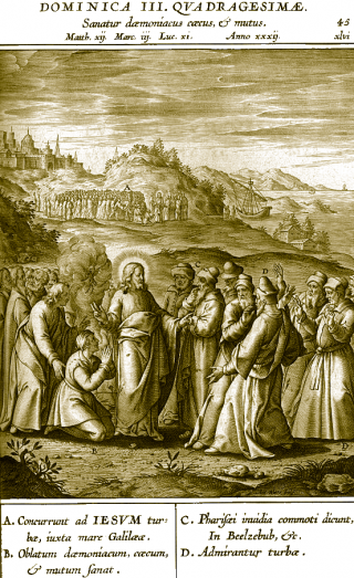 IIIème dimanche de Carême : exorcisme du démon muet