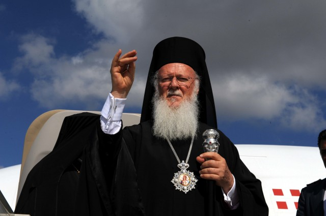Sa Sainteté le patriarche œcuménique de Constantinople Barthololmée Ier