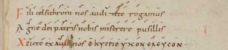 Ardua spes mundi - manuscrit 381 de Saint-Gall, page 45