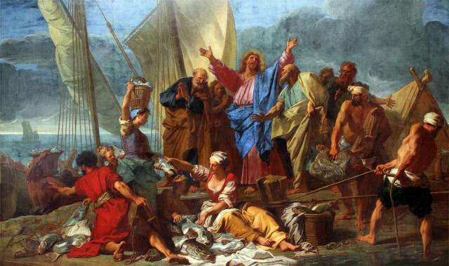 Jean Jouvenet, La Pêche miraculeuse
