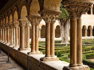 Cloître de l'Abbaye bénédictine de Silos