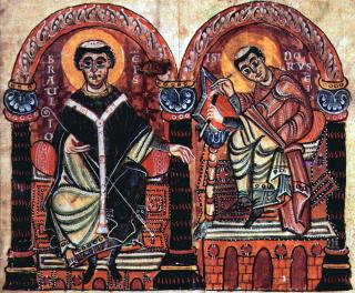 Saint Braulion de Saragosse et saint Isidore de Séville