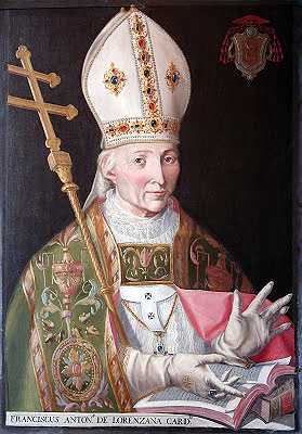 Francisco Antonio, cardinal de Lorenzana, archevêque de Tolède, primat d'Espagne