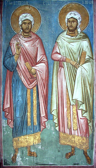 Saints anargyres Côme & Damien