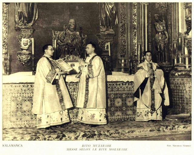 Messe en rit mozarabe à Salamanque