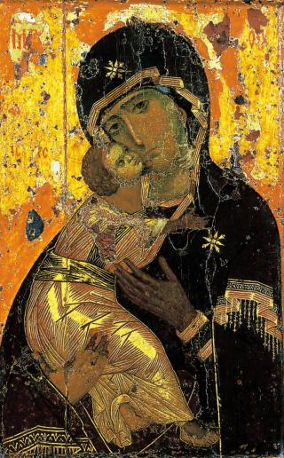 Icône de la Mère de Dieu de Vladimir