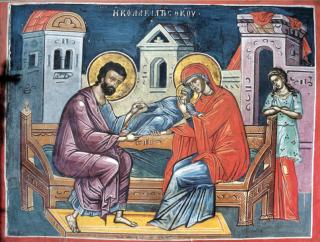 Saints Joachim & Anne, parents de la Mère de Dieu