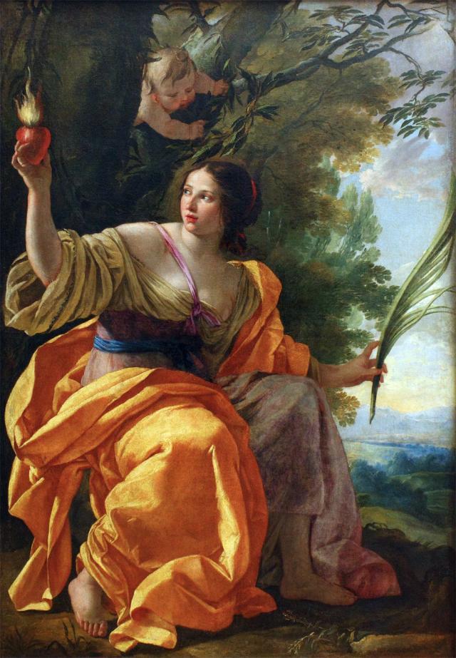 Simon Vouet, la Charité céleste
