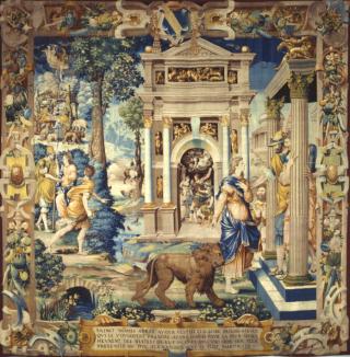 Tapisserie de saint Mammès