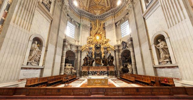 Chœur de la basilique Saint-Pierre du Vatican