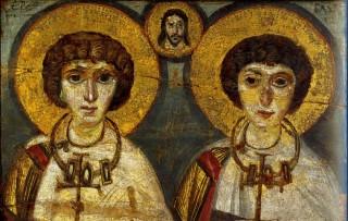 Saints Serge & Bacchus : icône du VIIème siècle
