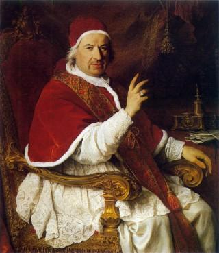 Le Pape Benoit XIV