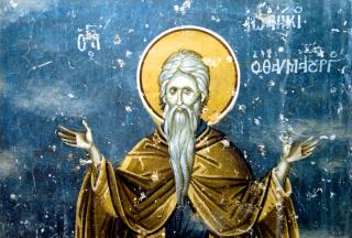 Notre vénérable Père Joannice le Grand, ermite au mont Olympe