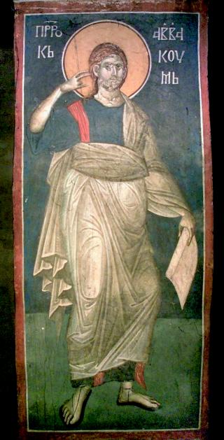 Le saint prophète Habacuc