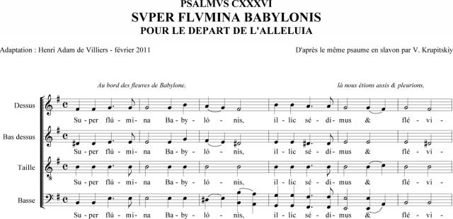 Krupitskiy - Super flumina Babylonis