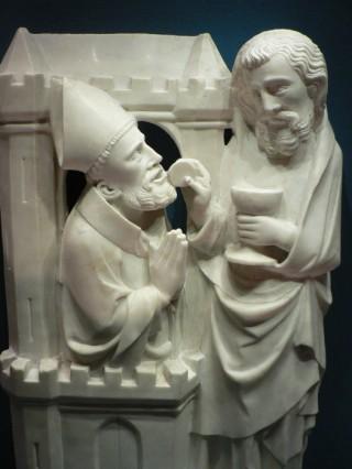 La communion de saint Grégoire le Grand