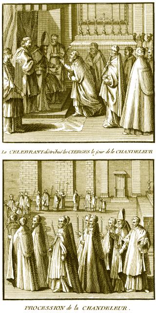 Procession de la Chandeleur (2 février)