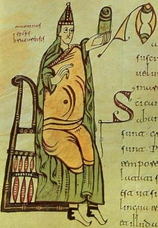 Saint Martin de Braga, qui évangélisa les Suèves